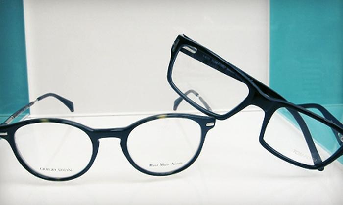 Drs. Copeland, Fertig and Kramer Optometric Eye Associates LLC - Rye Brook: Designer Sunglasses or Prescription Glasses at Copeland, Fertig and Kramer Optometric Eye Associates LLC (Up to 75% Off)