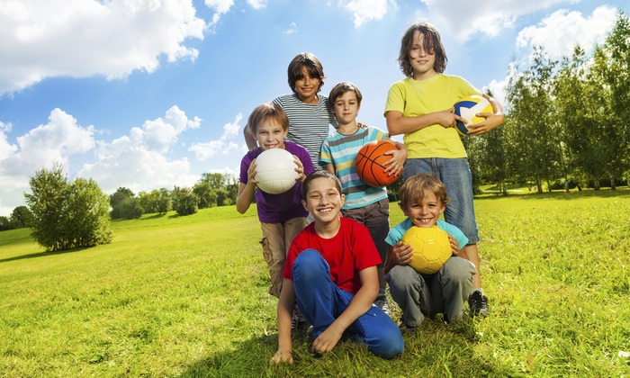 KidSportzUSA - Campbell: One Week of Half- or Full-Day of Kid's Summer Camp at KidSportzUSA (Up to 50% Off)