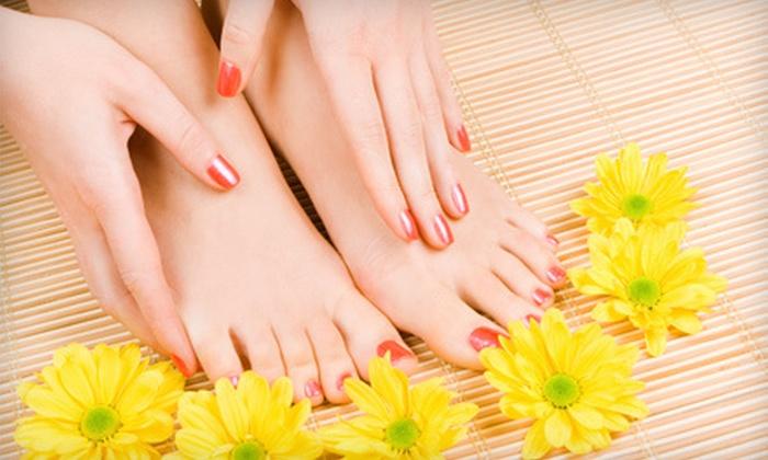 Relaxology Nail Spa - Milliken: One, Two, or Three Mani-Pedis at Relaxology Nail Spa (Up to 53% Off)