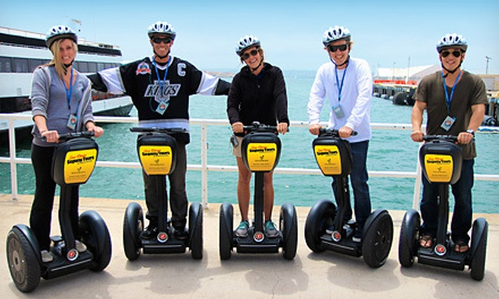 Wheel Fun Rentals - San Diego: Segway Tour for One or Two at Wheel Fun Rentals (Up to 53% Off)