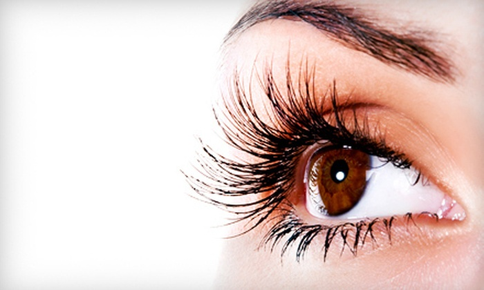 Posh Nail Studio - Wyoming: Band of False Lashes or Individually Applied Eyelash Extensions at Posh Nail Studio (Up to 67% Off)