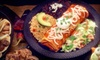 $10 for Southwestern Cuisine at The Green Chile