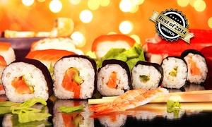 Nishiki Sushi: Wertgutschein über 30 oder 50 € anrechenbar auf alle Speisen à la carte für 2 oder 4 Personen bei Nishiki Sushi ab 15 €