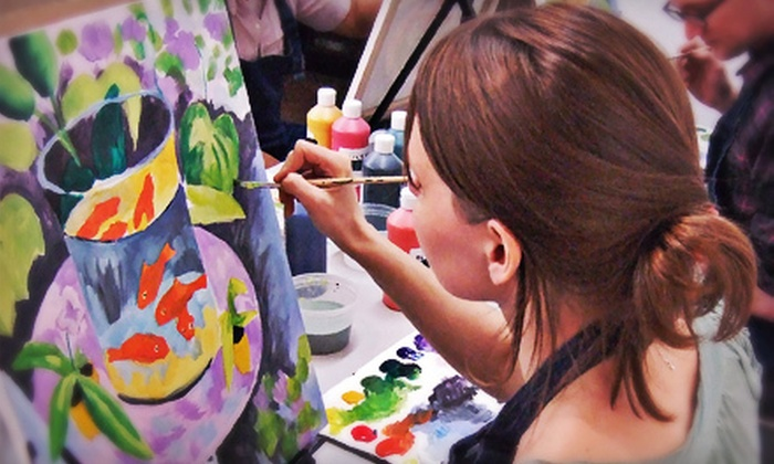 Painting Lounge - Williamsburg: Two-Hour BYOB Painting Workshop for One or Two at Painting Lounge (Up to 55% Off)