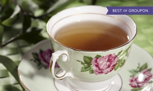 A Cup of Tea: $30 for Princess Heather's Tea for Two at A Cup of Tea ($53.90 Value)