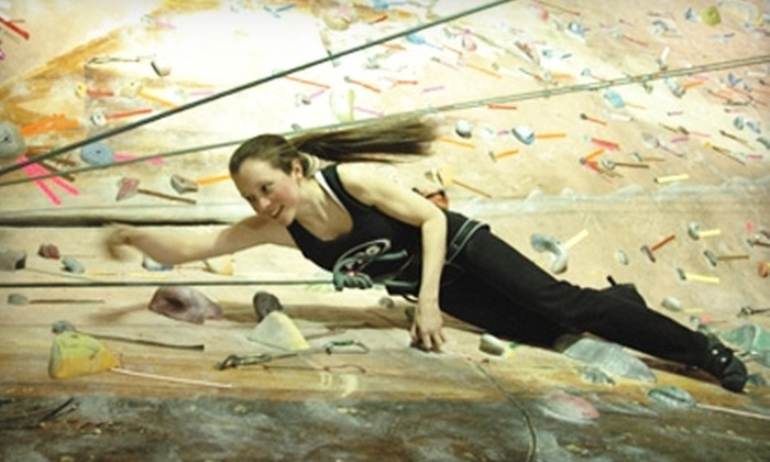 Philadelphia Rock Gyms - Tinicum: $25 for Three Hours of Outdoor Rock Climbing from Philadelphia Rock Gyms ($50 Value)