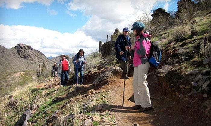 Take a Hike Arizona - North Scottsdale: $40 for a Leisure Hike in the Sonoran Desert from Take a Hike Arizona in Scottsdale