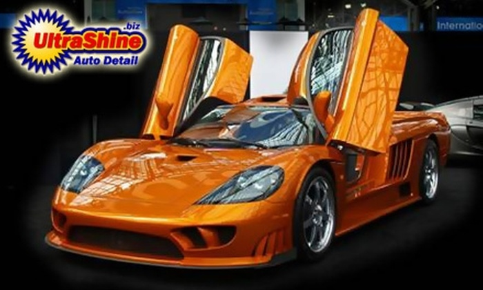 Ultra Shine Auto Detail - Original Town: $75 for a Mobile Hand Wash and Detail from Ultra Shine Auto Detail (Up to $175 Value)