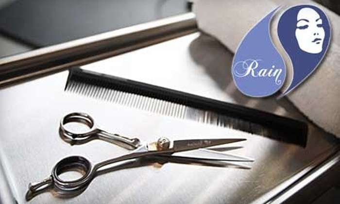 Rain Hair Salon - Fairview: $29 for a Tea Tree Scalp Massage, Deep Conditioning Treatment, and a Haircut at Rain Hair Salon (Up to $109 Value)