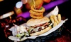 Cardiff - Around The world Bar - Cardiff: Burger, Pizza or Salad with Drink for One, Two or Four at Around The World Bar (Up to 60% Off)