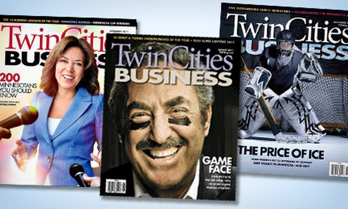 """Twin Cities Business - Roseville: One- or Two-Year Subscription to """"Twin Cities Business"""" (Up to 55% Off)"""