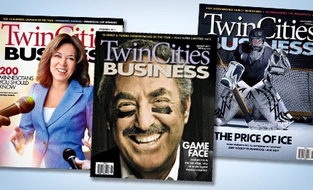 1-Year Subscription (a $24.95 value) - Twin Cities Business in