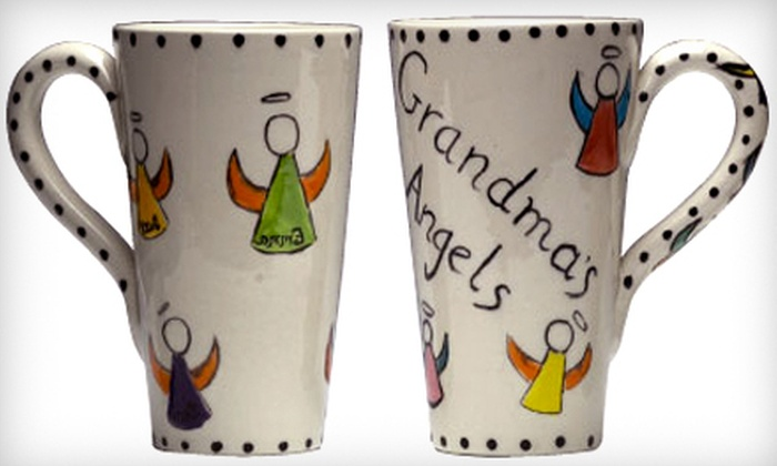 Ceramics a la Carte - Village Shoppes of Canton: Half Off Ceramics Painting for Two or Four at Ceramics a la Carte in Canton