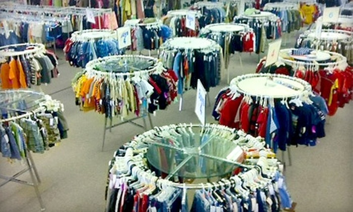 Children's Exchange - Amarillo: $7 for $15 Worth of Clothes and More at Children's Exchange