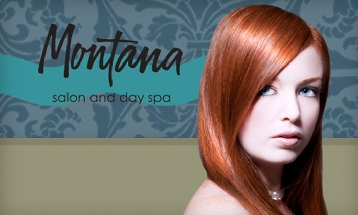 Montana Salon and Day Spa - Hampden South: $99 for a Brazilian Blowout with Keratin Deep Conditioning Treatment at Montana Salon and Day Spa