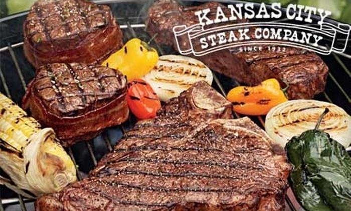 Kansas City Steak Company: $25 for $50 Worth of Steaks Plus Free Shipping from Kansas City Steak Company ($54.95 Value)