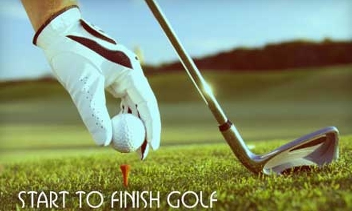 Start to Finish Golf - Hollywood Lakes Country Club: $75 for a Comprehensive Golf Lesson at Start To Finish Golf in Pembroke Pines