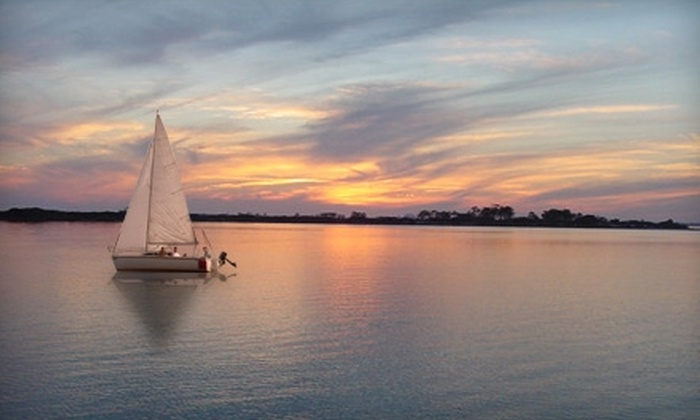 Lanier Sailing Academy - Downtown: $112 for a Two-Hour Sunset Sail for Four People with Lanier Sailing Academy ($225 Value)