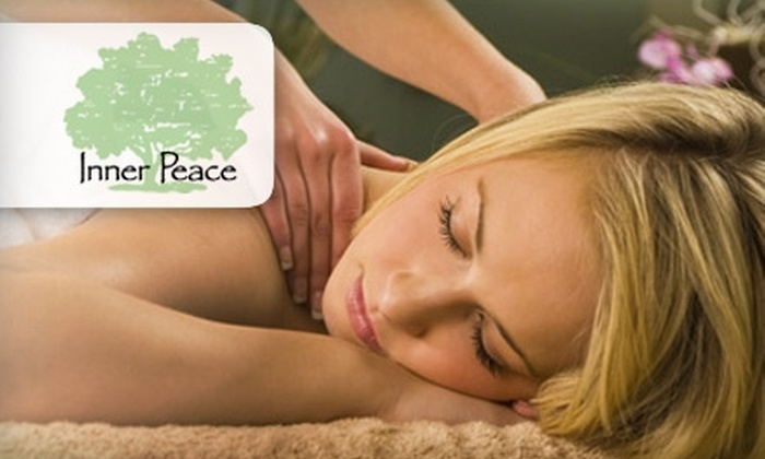 Inner Peace Holistic Center - Central Business District: $45 for the Bamboo Massage at Inner Peace Holistic Center ($90 Value)