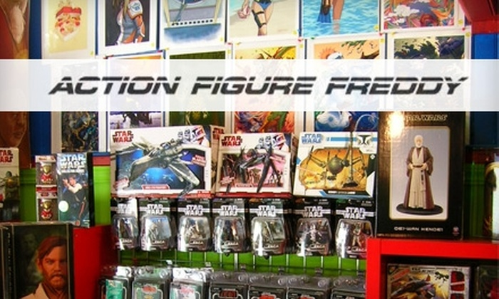 Action Figure Freddy - Chinatown: $15 for $30 Worth of Action Figures, T-Shirts, Statues, and More at Action Figure Freddy