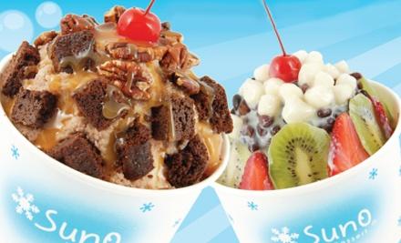 $10 Groupon to SunO Dessert - SunO Dessert in Duluth