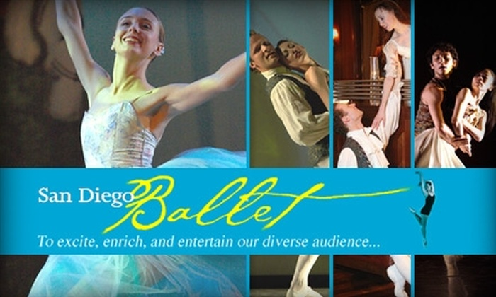 """San Diego Ballet - Horton Plaza: $20 for Ticket to """"Romeo and Juliet"""" at Lyceum Theatre ($40 Value). Buy Here for February 13 at 8 p.m. Click Below for Additional Dates and Times."""