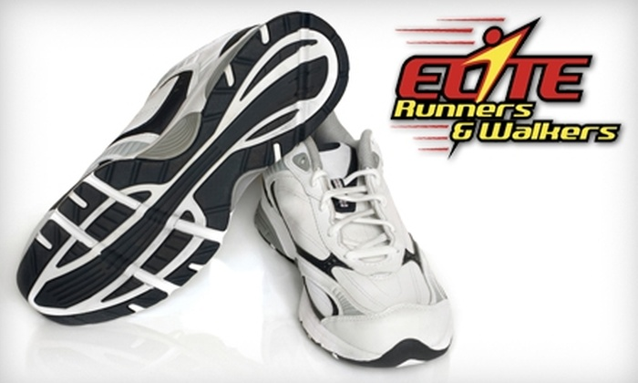 Elite Runners & Walkers - McKees Rocks: $20 for $40 Worth of Running Gear at Elite Runners & Walkers