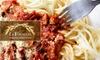 La Focaccia, Italian Bistro - CLOSED - Paradise: $20 for $40 Worth of Affordable Italian Cuisine at La Focaccia