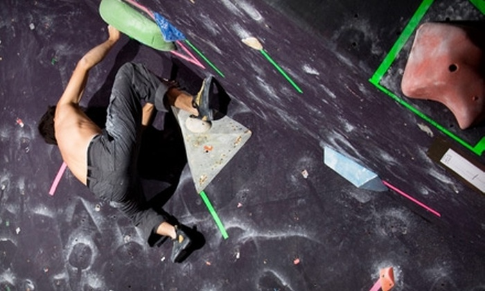 Beyond the Crux - Central City: Rock Climbing at Beyond the Crux. Two Options Available.