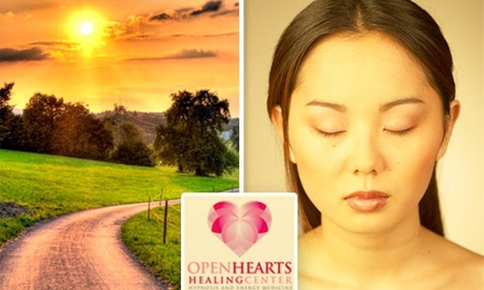 Open Hearts Healing - South Side: $40 for a 75-Minute Hypnosis Session at Open Hearts Healing Center ($80 Value)