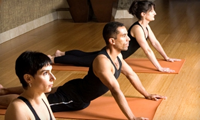 Fitness Yoga Studios - Harrison: $49 for Eight Drop-In Classes at Fitness Yoga Studios in Mullica Hill (Up to $109 Value)