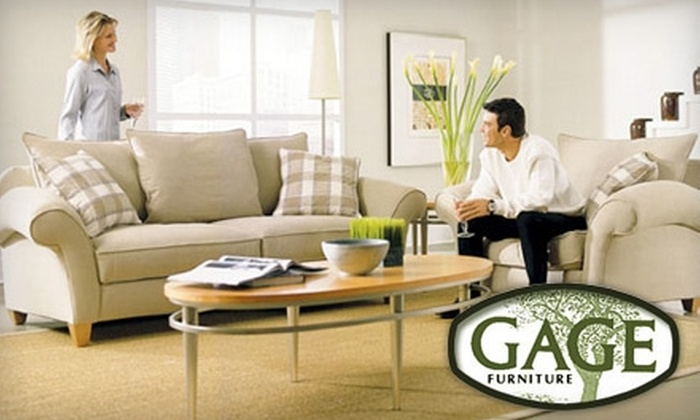 Gage Furniture - Multiple Locations: $25 for $100 Worth of Furniture and More at Gage Furniture