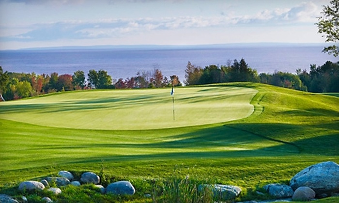 The Golf Club at Lora Bay - Thornbury: Golf, Cart Rental, and Preferred Player's Guide at The Golf Club at Lora Bay in Thornbury. Two Options Available.