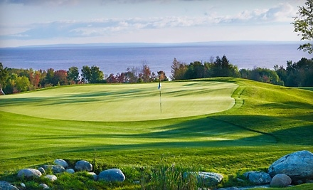 The Golf Club at Lora Bay: 18 Holes of Golf, Cart Rental, and Preferred Player's Guide on Friday-Sunday After 1PM - The Golf Club at Lora Bay in Thornbury
