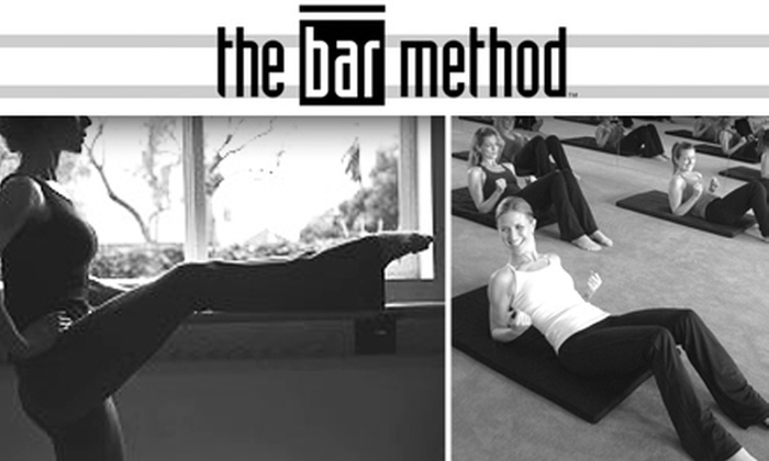 Bar Method - Multiple Locations: $18 for Two One-Hour Classes at The Bar Method ($36 Value)