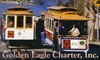 Golden Eagle Charter - Bullard: $30 for a Round-Trip Holiday Shopping Transit to San Francisco's Union Square with Golden Eagle Charter ($60 Value). Four Dates Available.