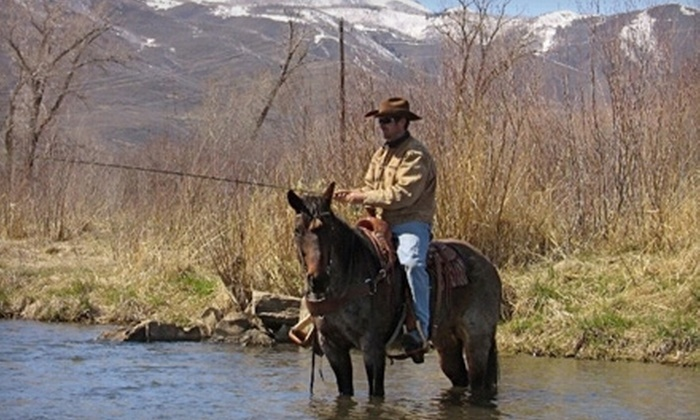 Rocky Mountain Outfitters - Heber:  $29 for a Horseback Ride ($59 Value) or $109 for a Fly-Fishing Lesson ($229 Value) from Rocky Mountain Outfitters in Midway