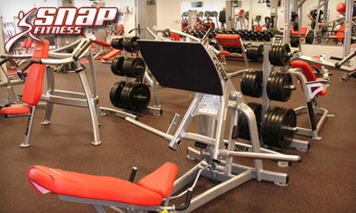 Snap Fitness  - Multiple Locations: $20 for a One-Month Membership at Snap Fitness ($83.95 Value)