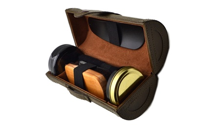 Shoe Shine Care Polish Travel Kit for AED 39 (74% Off)
