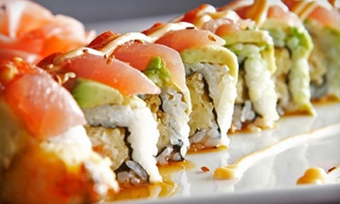 Min Ghung Asian Bistro - Glastonbury: $10 for $20 Worth of Asian Cuisine and Sushi at Min Ghung Asian Bistro