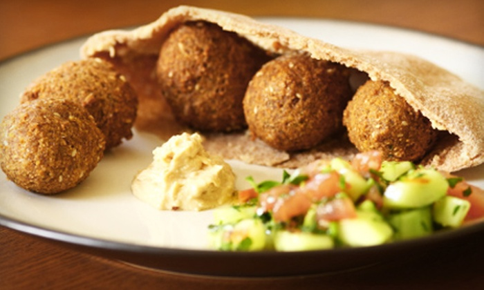 Mazzika Mediterranean Restaurant - Highland Park: $12 for $25 Worth of Mediterranean Cuisine and Hookah at Mazzika Mediterranean Restaurant in Norfolk