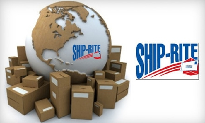 Ship-Rite at McDowell Mountain Ranch - North Scottsdale: $10 for $20 Worth of Shipping and Supplies at Ship-Rite at McDowell Mountain Ranch in Scottsdale