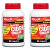 Mason Natural Apple Cider Vinegar Plus Tablets (2-Pack - 120-Count)