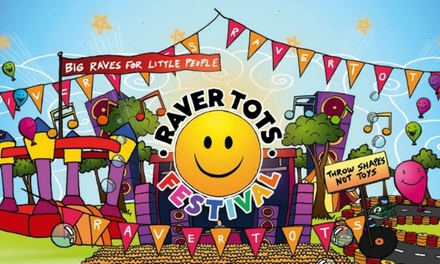 Raver Tots Outdoor Family Festival, 27 May at Southend Leisure & Tennis Centre