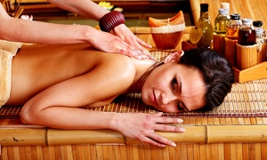 Om Thai Yoga Wellness Center: Thai Massage with Breath Work or Hot Stones, or Thai Spa Package at Om Thai Yoga Wellness Center (Up to 53% Off)