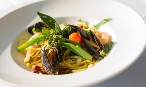 Restaurant Kahnaletto: Italienisches 4-Gänge-Menü inkl. Aperitif auf dem Restaurant-Schiff Kahnaletto mit Blick auf die Altstadt (40% sparen*)