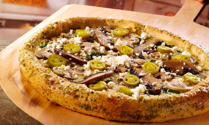 Mellow Mushroom - Greensboro: $11 for $20 Worth of Gourmet Pizza, Hoagies, and Salads at Mellow Mushroom