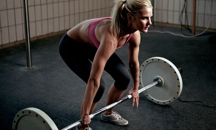 $59 for Five Weeks of Unlimited Beginner or Intermediate Classes at CrossFit Work Over Time ($125 Value)