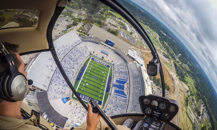 Officer Don Flight Training Academy - Georgetown Scott County Regional Airport: $149 for Helicopter Flight Lesson with In-Flight Photo at Officer Don Flight Training Academy ($299 Value)