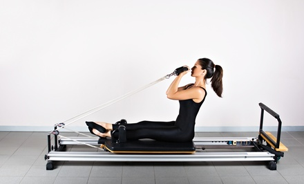 Pilates Reformer Classes at DesiredFace European Facial Workout (Up to 59% Off). Three Options Available.